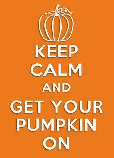 Keep Calm and Pumpkin On ~ Project Life card