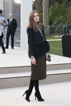Olivia Palermo - Burberry Prorsum at Kensington Gardens