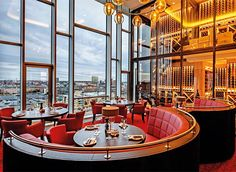 Nijboer - MASH Steakhouse #restaurant #bar #tafel #stoel #interieur #bank