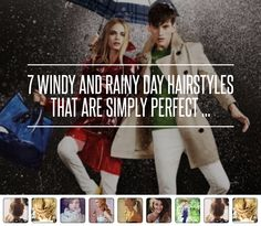 Throw on a Hat - 7 Windy and Rainy Day Hairstyles That Are Simply Perfect . Rainy Day Hairstyles, Hat Hairstyles, Windy Day, Just Don, Hair Brush, Hair Type, Your Hair, Hair Makeup, Hair Cuts