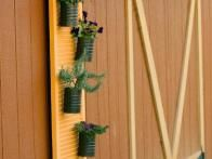 Turn old shutters into a vertical garden with easy, step-by-step instructions from HGTV Gardens.