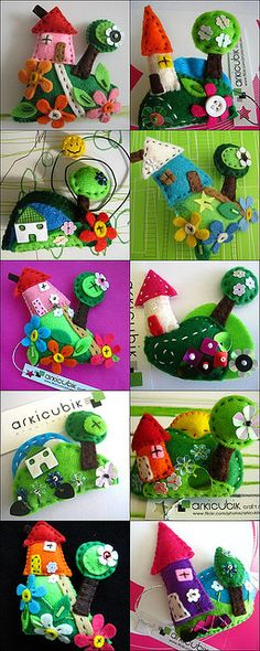 My fairy tale houses by arkicubik, via Flickr