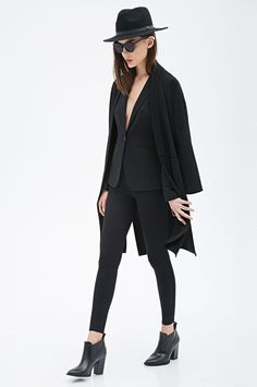 All Black Outfits - Creative Monochrome Looks