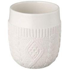 Kinto - Tasse tricot en porcelaine double paroi