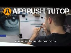 How to airbrush a line