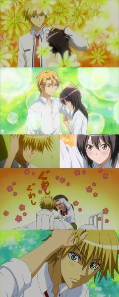 Funny Couple Tattoos God Ideas For 2019 Maid Sama Manga, Anime Maid, Anime People, Anime Guys, Manga Anime, Funny Couples, Anime Couples, Usui, Kaichou Wa Maid Sama
