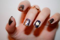 ♕ Nailstorming Royal ♕ by diamant sur l'ongle