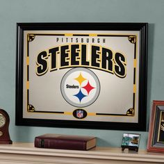 The Memory Company Pittsburgh Steelers 22 Printed Mirror - NFL-PST-858