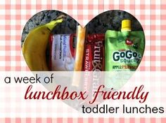 Daycare Lunch Ideas for Toddlers- Babble