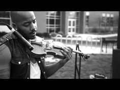 Official live performance video for New York based violinist Damien Escobar's cover of Alicia Keys' Unthinkable. This live performance is from the critically. Sound Of Music, Kinds Of Music, Music Is Life, Good Music, My Music, Violin Music, Music Songs, Music Videos, Play It Again Sam