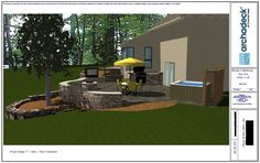 patio rendering - Google Search