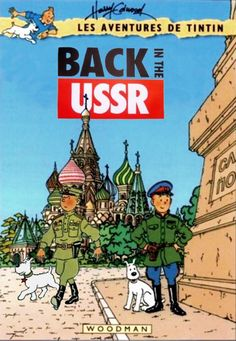 Les Aventures de Tintin - Album Imaginaire - Back in the USSR