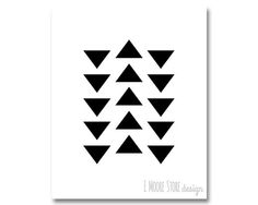 Geo #4- Black and White, Instant Download, Geometric Print, Minimalist Wall Art, Geometric Wall Art, Minimalist Home Decor, Modern Decor
