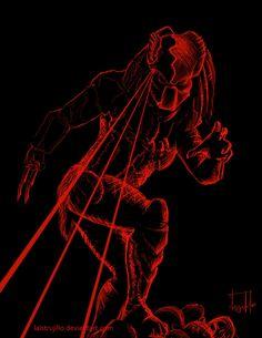 Predator by redtrujillo.deviantart.com on @deviantART