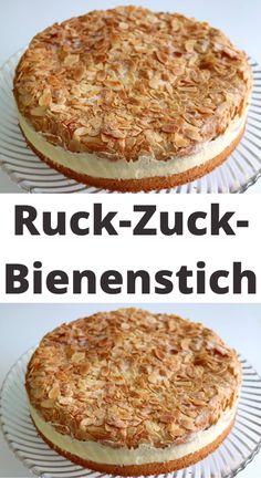 Easy Cake Recipes, Sweet Recipes, Baking Recipes, Dessert Recipes, German Baking, German Desserts, Funny Cake, Sweet Bakery, Pudding Cake