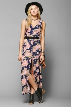 Reverse So Called Floral Maxi Dress