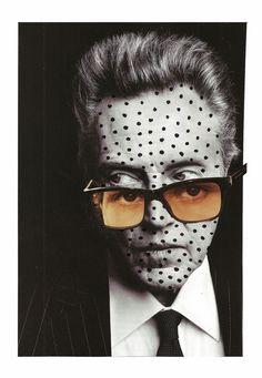 red-lipstick:  Lynn Skordal aka Paperworker (USA) - Walken, 2013   Collage: Cut + Paste, Magazine Cuttings, Markers