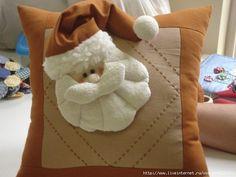 Идеи праздничных подушек | Подушки | Постила