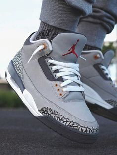 94eefc2683bfb0 Nike Air Jordan III Cool Grey - 2007 (by krip2nyt3)
