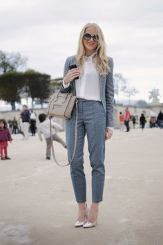 awesome en las tullerias paris estampados street style photo form fashion blog