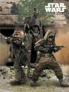 It's Droids, Death Troopers and Darth Vader in unseen Rogue One promo art…