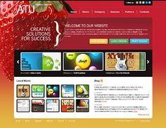 Website Template #32236 Joomla