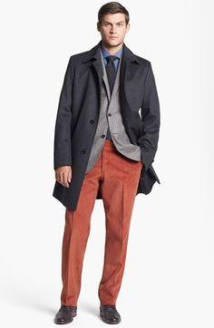 BOSS HUGO BOSS 'Task' Coat. $645.00. #fashion #men #coat #outerwear