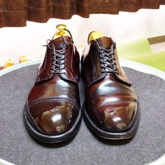 Alden 昨日の靴と週明け予定の靴 #alden #cordovan #shoes #mensshoes #shoecare #オールデン #コードバン #紳士靴 #革靴 #靴磨き #シューケア