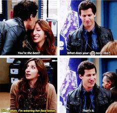 Ways Gina From 'Brooklyn Nine-Nine' Showed Us How To Navigate The Modern World Embrace the fact that it's reality TV's world, and we're just living in it. Brooklyn Nine Nine Funny, Brooklyn 9 9, Hunger Games, Jake And Amy, Jake Peralta, Bae, Best Shows Ever, Reality Tv, Best Tv