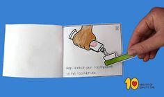 Help Nathan Brush His Teeth – Little Book Pre K Activities, Health Activities, Healthy Habits For Kids, Dot To Dot Printables, Dental Hygiene School, Early Childhood Education, Little Books, Dental Health, Investigations