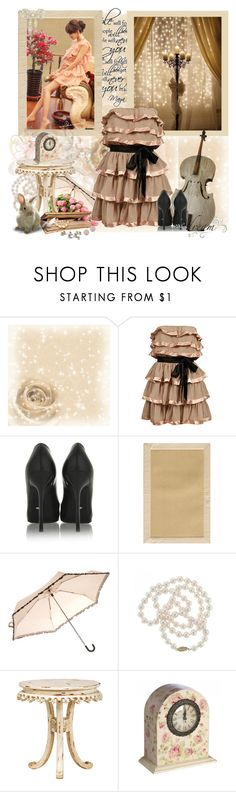 """""""Let's Go"""" by mayanag ❤ liked on Polyvore featuring True Decadence, Sergio Rossi, WALL, Home Decorators Collection, Miss Selfridge, DaVonna, Shabby Chic, Wall Pops! and Dana Rebecca Designs"""