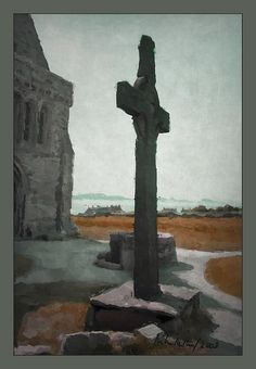 Iona Abbey Cross