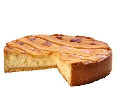 """Ricotta dort Svěží dort typu """"cheesecake"""" z italského tvarohového sýru ricotta ve vanilkovém lineckém korpusu s mřížkou. Ricotta, Steak, French Toast, Cheesecake, Breakfast, Food, Cheesecake Cake, Breakfast Cafe, Cheesecakes"""