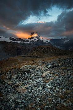 Matterhorn, Cervino, Valle D'Aosta and Zermat Switzerland