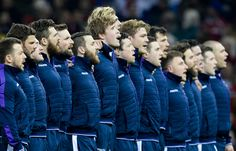 The Scotland Rugby team for each match is chosen from the Scotland squad. The squad attends a training camp before each set of international fixtures Scottish Rugby Team, Scotland Men, International Rugby, Rugby World Cup, Boyfriend Material, Squad, Georgia, Champion, The Past