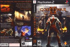 God of War 2 - PlayStation 2 Playstation 2, Saga, Gamer Pics, New Gods, God Of War, Video Game Art, Media Center, Fun Games, Nerd
