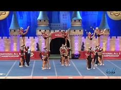 KC Cheer Fierce Five 2015 L5 Small Senior Coed Day 2