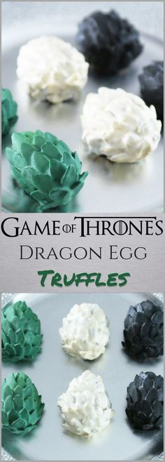 Game of Thrones Dragon Egg Truffle Recipe
