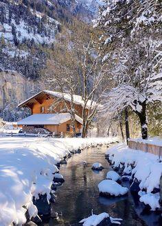 "coiour-my-world: ""sennarelax ~ Canton of Bern, Switzerland "" Beautiful Winter Scenes, Winter Szenen, Snow Scenes, Foto Art, Christmas Scenes, Winter Beauty, Winter Pictures, Winter Landscape, Belle Photo"