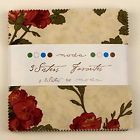 Moda 3 Sisters Favorites 2014 Sample Charm Pack Squares 42 pc 5 Inch