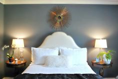 Love this paint color for bedroom