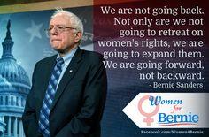 #FeelTheBern #Women4Bernie