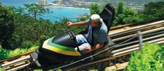 Things to Do in #Jamaica: Go Bobsledding! Mystic Mountain #OchoRios