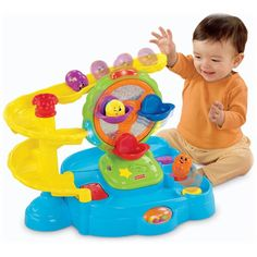 Fisher-Price Topzy Tumblers Twirlin' Tumblin' Fun Park: Amazon.co.uk: Baby