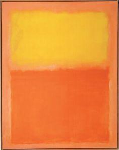 Mark Rothko- Orange and Yellow  로스코 작품을 보며 이게 왜 비싸냐 하는 사람들은 정말 내 생각엔 아무것도 모르는 사람들이다. 아마 실제로 본 적도 없을거고, 보려고 한 적도 없을거다. 로스코 작품 앞에 서면 솔직히 가슴 떨린다. 나도 잘 아는 것도 아니고 그냥 직접 봤을 때 느꼈던 감정임. '울림'이란 게 뭔지 처음 알게 되었던 게 바로 로스코 작품임.