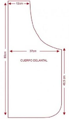 Molde delantal de cocina decorado.jpg (349×600)