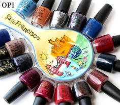 The OPI San Francisco Collection, New for Fall/Winter 2013