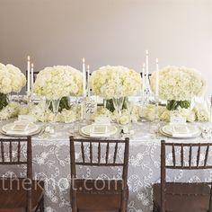 simple & elegant head table