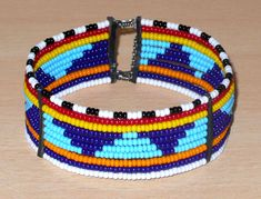 African Maasai bracelet - Bracelet africain Massai (Timeless Fineries) African Bracelets, African Jewelry, Friendship Bracelets, Belt, Etsy, Accessories, Fashion, African Patterns, African Masks