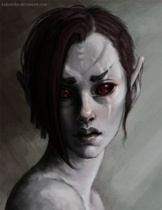 Find images and videos about skyrim on We Heart It - the app to get lost in what you love. Character Portraits, Character Art, Character Design, Magical Creatures, Fantasy Creatures, High Fantasy, Fantasy Art, Fantasy Races, Fantasy Women